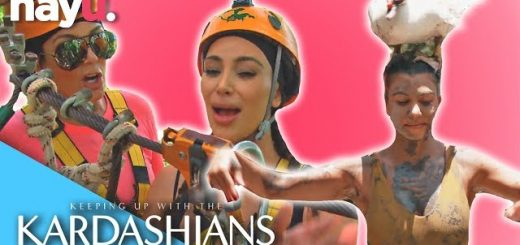 kardashians vs the outdoors keeping up with the kardashians youtube thumbnail 520x245 - KARDASHIANS VS. THE OUTDOORS! | Keeping Up With The Kardashians