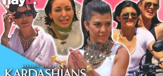 summer holidays with the kardashains keeping up with the kardashians youtube thumbnail 520x245 - Summer Holidays With The Kardashains 🌴 | Keeping Up With The Kardashians