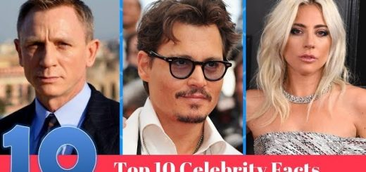 top 10 celebrity facts 2019 youtube thumbnail 520x245 - Top 10 Celebrity Facts 2019